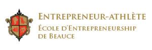 Logo entrepreneur athlete école entrepreneurship de Beauce